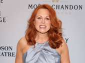 Broadway fave Carolee Carmello snaps a pic.