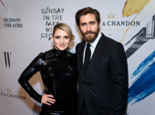 These two! Sunday in the Park with George's Annaleigh Ashford and Jake Gyllenhaal get together on the red carpet. Catch them in this masterpiece through April 23.