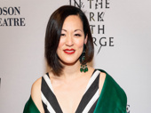 Sunday in the Park with George's MaryAnn Hu stuns on the red carpet.