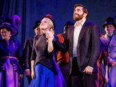 Sunday in the Park with George's stars Annaleigh Ashford and Jake Gyllenhaal take it all in.
