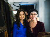 Two Tuptims are better than one! EGOT-er Rita Moreno, who played Tuptim in the 1956 King and I film, visits the cast backstage, including Park, who was last seen on Broadway in The King and I in the same role.