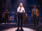 Kendra Kassebaum and the cast of Come From Away.