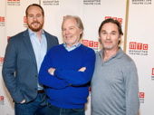 The men of Broadway's The Little Foxes': Darren Goldstein, Michael McKean and Richard Thomas.