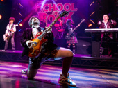 Alex Brightman as Dewey in School of Rock.