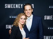 The makers of the worst pies in London clean up nice! Sweeney Todd stars Siobhán McCarthy and Jeremy Secomb get together.