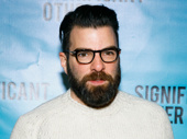 Stage and screen star Zachary Quinto has arrived.