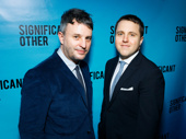 Significant Other director Trip Cullman and scribe Josh Harmon suit up for their Broadway opening.