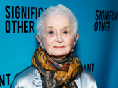 The legendary Barbara Barrie, who plays a wise grandmother in Significant Other, steps out.
