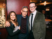 Significant Other's Sas Goldberg and Luke Smith snap a pic with Tony winner Joe Mantello, who is currently starring in The Glass Menagerie.