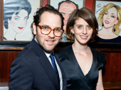 The Glass Menagerie director Sam Gold and his wife Amy Herzog step out.
