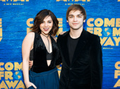 Spring Awakening reunion alert! Krysta Rodriguez and Sean Grandillo on the red carpet.