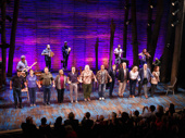 Give this a gander! The cast of Come From Away takes their opening night Broadway bow.