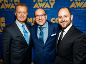 A trio of Come From Away players: Lee MacDougall, Joel Hatch and Geno Carr.