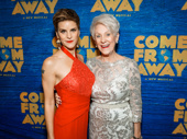 Star Jenn Colella poses with pilot Beverley Bass, whom she plays in the show.