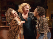 Alison Wright as Jessie, Johanna Day as Tracey and Michelle Wilson as Cynthia in Sweat.