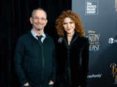 Broadway legends Joel Grey and Bernadette Peters, who voice Angelique in the Beauty and the Beast sequel, join in on premiere fun!