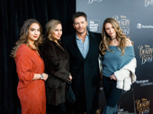 Harry Connick Jr. and his family Sarah Kate Connick, Jill Goodacre, Georgia Connick spend some bonding time seeing Beauty and the Beast