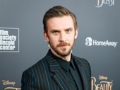 Dan Stevens is in handsome Beast mode at the NYC premiere.