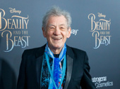 What time is it? Sir Ian McKellen (who plays Cogsworth) probably knows!