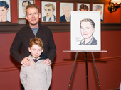 Richard Roxburgh is joined by his son, Raphael.