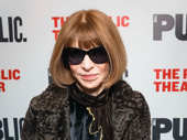 Vogue Editor-in-Chief Anna Wintour always stands out at an event.