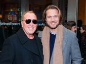 Designer Michael Kors and his husband Lance LePere hit the Broadway circuit.