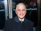 Taxi alum and Broadway fave Tony Danza snaps a pic.