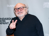 The Price's Danny DeVito is all smiles for his Broadway debut.