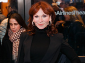 Taxi and Broadway alum Marilu Henner supports her pal Danny DeVito at the Broadway opening of The Price.