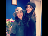 This former Broadway.com vlogger lovefest is too much too handle! Queen Lesli Margherita recently snapped a pic with On Your Feet! queen Ana Villafañe after catching the vibrant musical.(Photo: Instagram.com/queenlesli)
