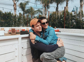 We love seeing guilty ones reunite! Spring Awakening and Glee BFFs Jonathan Groff and Lea Michele get cozy.(Photo: Instagram.com/leamichele)