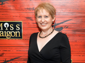 Tony nominee Liz Callaway, who originated the role of Ellen in Miss Saigon in 1991, flashes a smile.