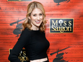Broadway fave Caissie Levy strikes a pose.