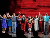 Bravo! Miss Saigon's fantastic company bows on opening night.