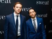 Sweat's Will Pullen and Carlo Albán take a photo.