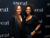 Soul Food sisters Nicole Ari Parker and Vanessa A. Williams unite at the Broadway opening of Sweat.