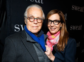 Six Degrees of Separation scribe John Guare and star Allison Janney get together.