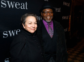 Tony winner Chuck Cooper and his wife Deborah Brevoort attend the opening night of Sweat on Broadway.