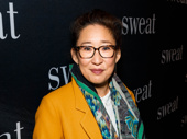 Five-time Emmy nominee Sandra Oh hits the red carpet.