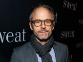 Six Degrees of Separation-bound star John Benjamin Hickey takes a photo.