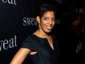 Playwright Lydia Diamond attends the Broadway opening of Sweat.
