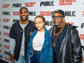 Malcolm Washington, Satchel Lee and film legend Spike Lee hit the off-Broadway circuit.