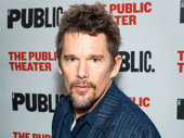 Oscar and Tony nominee Ethan Hawke snaps a pic.