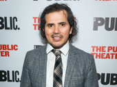 Latin History for Morons's scribe and star John Leguizamo suits up for his off-Broadway opening.