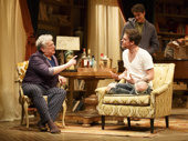 Harvey Fierstein as Beau and Gabriel Ebert as Rufus in Gently Down the Stream.