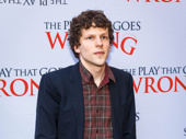 Stage and screen star Jesse Eisenberg steps out.