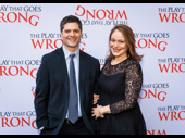 Pulitzer Prize and Tony winner Tom Kitt and his wife Rita Pietropinto step out.