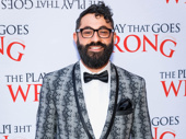 The Play That Goes Wrong's  costume designer Roberto Surace knows how to work an opening night.