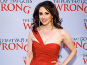Leave it to the hilarious Queen Lesli Margherita to attend this comedy's opening night.