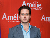 Broadway fave Steven Pasquale steps out to support his fiancée Phillipa Soo on her opening night in Amélie.